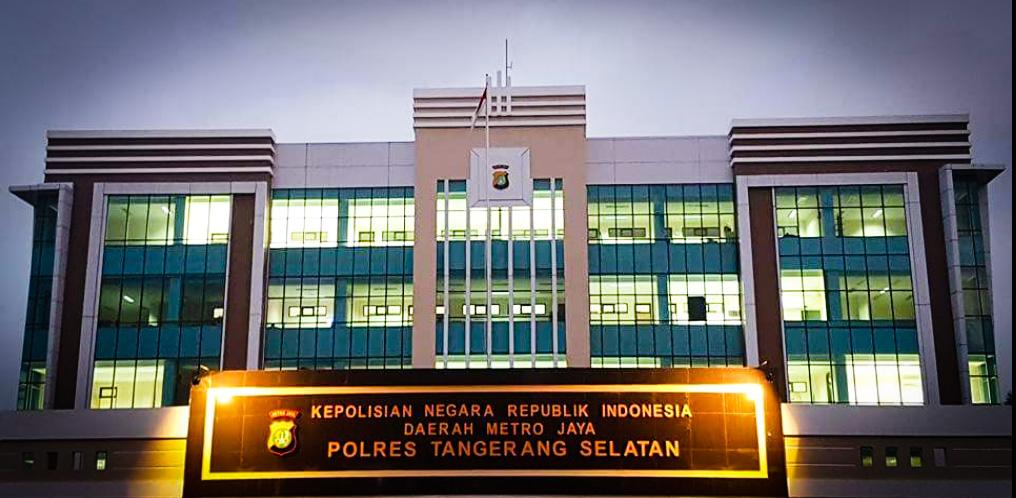 Kantor Polres Tangerang Selatan